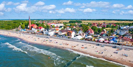 polnische ostseeküste ferienhaus